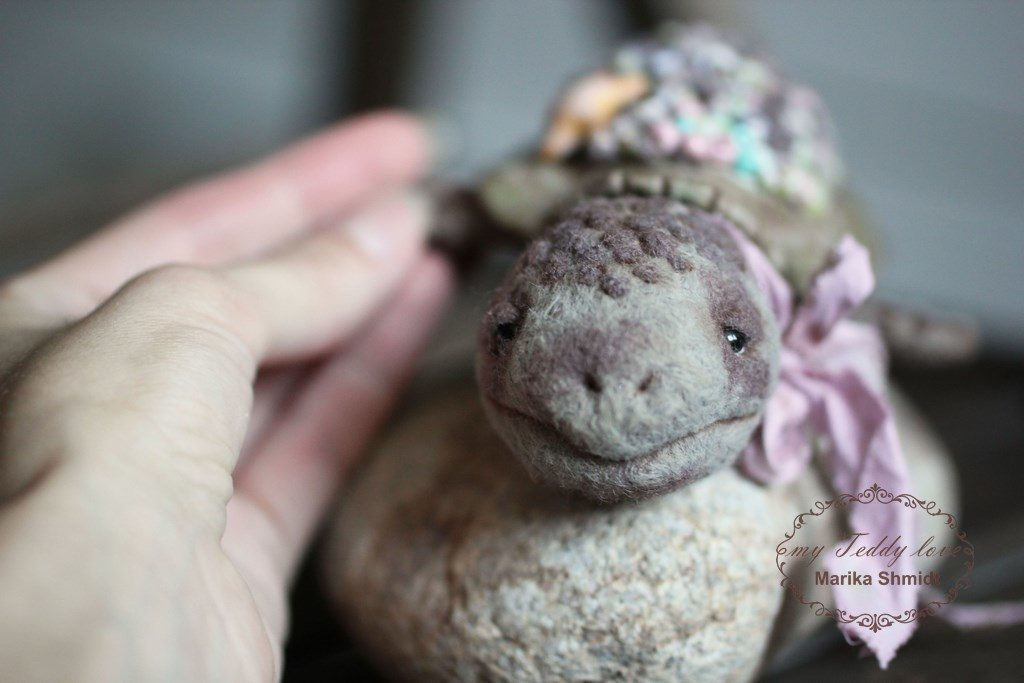 Turtles Teddy by Marika Shmidt